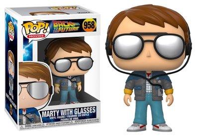 Funko Pop! Vinyl Figure - Scifi Back to the Future 958 Marty with Glasses