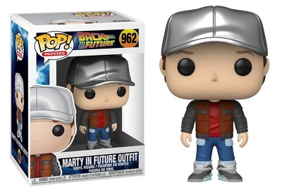 Funko Pop! Vinyl Figure - Scifi Back to the Future 962 Marty in Future Outfit