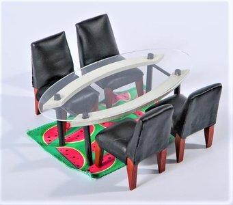 The Kaleidoscope House - Dining Room Furniture set door Dakota Jackson