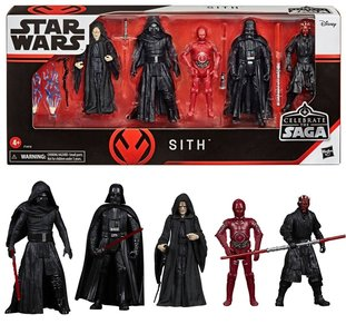 Hasbro Action Figure - Star Wars Celebrate the Saga Figure set F1414 Sith 5-Pack