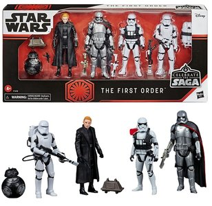 Hasbro Action Figure - Star Wars Celebrate the Saga Figure set F1415 The First Order 5-Pack