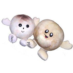Celestial Buddies Plush - Science Astronomy Cosmic Buddy Pluto and Charon