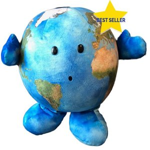 Celestial Buddies Plush - Science Astronomy Cosmic Buddy Large Earth Our Precious Planet