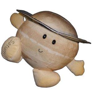 Celestial Buddies Plush - Science Astronomy Cosmic Buddy Saturn