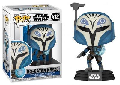 Funko Pop! Vinyl Figure - Star Wars The Clone Wars 412 Bo-Katan Kryze