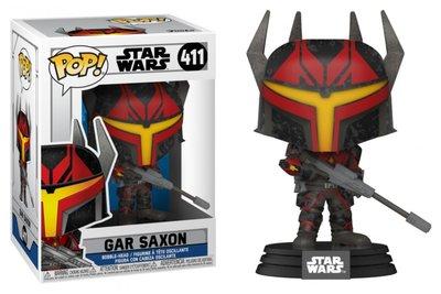 Funko Pop! Vinyl Figure - Star Wars The Clone Wars 411 Gar Saxon