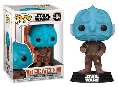 Funko Pop! Vinyl Figure - Star Wars The Mandalorian 404 The Mythrol