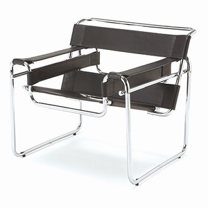 Mini Designer Chairs: kinderstoel chroom/zwart
