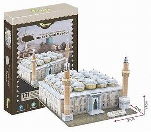 3D Puzzel: Bursa Grand Mosque (Educator)