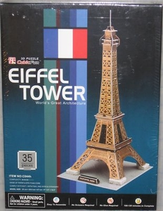 3D Puzzel: Eiffel Tower (Cubic Fun)