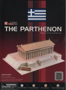 3D Puzzel: Parthenon (Cubic Fun)