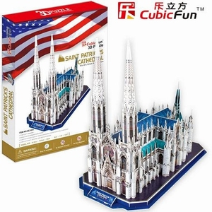 3D Puzzel: Cathedral St Patrick (Cubic Fun)