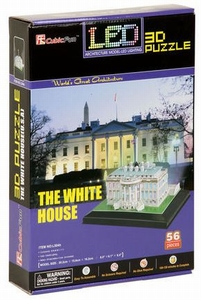 3D Puzzel: White House - LED (Cubic Fun)
