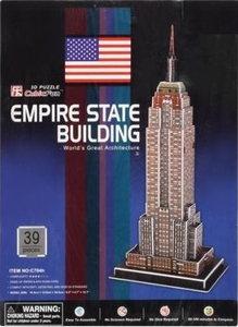 3D Puzzel: Empire State Building (Cubic Fun)