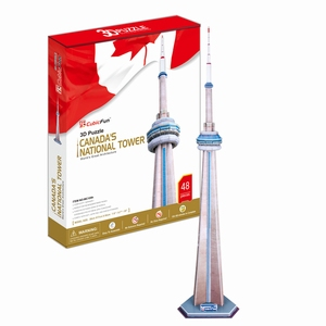 3D Puzzel: CN Tower (Cubic Fun)