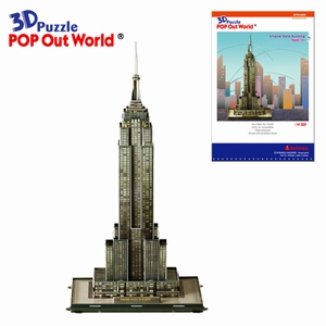 3D Puzzel: Empire State building