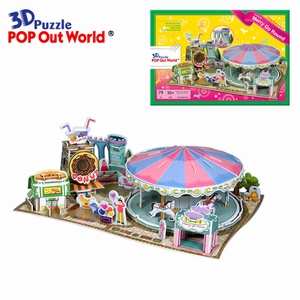 3D Puzzel: Fantastic Merry Go Round
