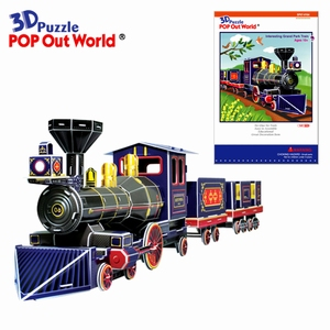 3D Puzzel: Interesting Grand park train
