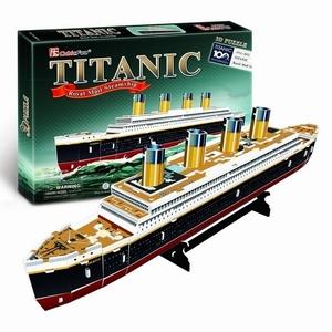3D Puzzel: Titanic - medium (CubicFun)