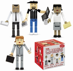 Cubes Dan-Sue-Jan-Jim Expansion set van 4 figuren