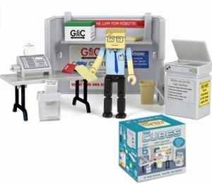 Cubes Set 6 Copy center (kopieer apparaat)