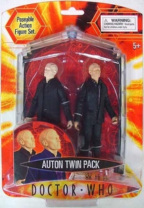 Doctor Who actiefiguur Auton Twin Pack