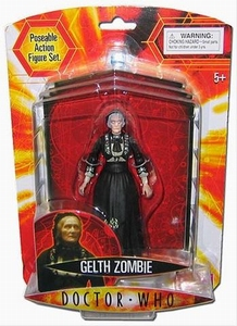 Doctor Who Gelth Zombie actiefiguur