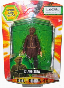 Doctor Who Scarecrow actiefiguur (bruine das)
