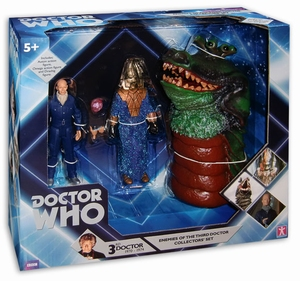 Doctor Who Enemies of the 3rd Doctor set