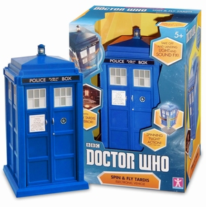 Doctor Who 12th Doctor Spin and Fly Tardis speelset