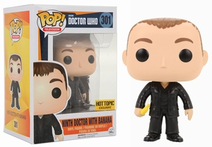 Funko POP! TV 301 Doctor Who 9th Doctor with Banana