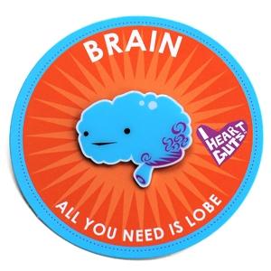 I Heart Guts reversspeld - Hersenen (Brain)