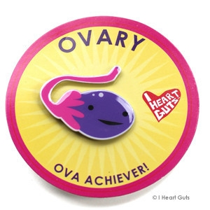 I Heart Guts reversspeld - Eierstok (Ovary)