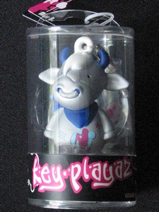Key-Playaz sleutelhanger: Mr. Mokka zilver (70406)
