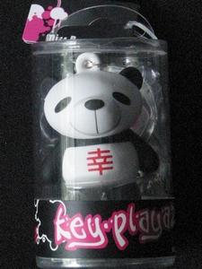 Key-Playaz sleutelhanger: Panda (70413)