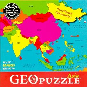 GeoPuzzel Azië