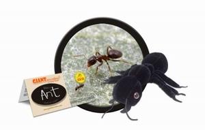 Giant Microbes Black ant (zwarte mier)