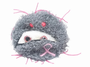 Giant Microbes Breast cancer cell (borstkanker cel)