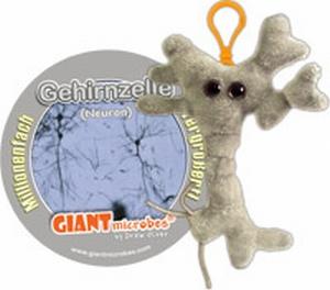 Giant Microbes Sleutelhanger Brain cell (Hersencel)