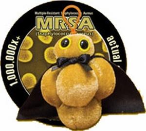 Giant Microbes Sleutelhanger MRSA