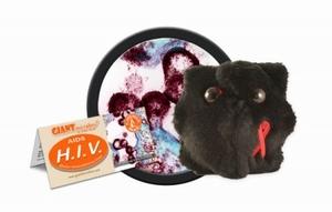 Giant Microbes HIV
