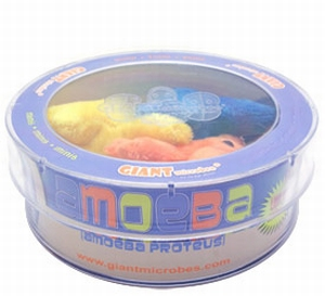 Giant Microbes Petri schaal Amoebe mix van 3