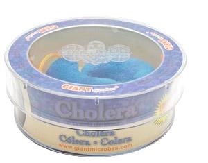 Giant Microbes Petri schaal Cholera (Vibrio cholerae)