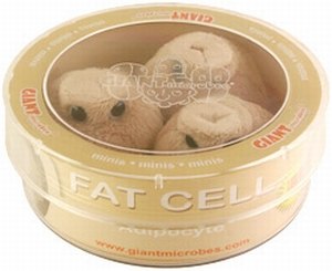Giant Microbes Petri schaal Fat cell (vet cel)