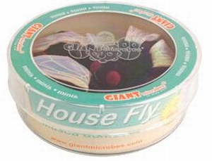 Giant Microbes Petri schaal House fly (huis vlieg)