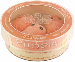 Giant Microbes Petri schaal Pimple (Acne)