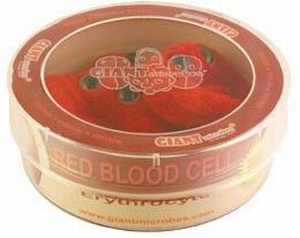 Giant Microbes Petri schaal Red blood cell (rode bloedcel)