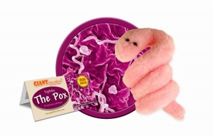 Giant Microbes Pox (syfilis)