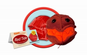 Giant Microbes Red tide (rode vloed alg)