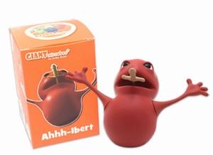 Giant Microbes Vinyl figuur Ahhh-lbert (zere keel)
